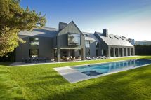 Modern Exterior House with Slate