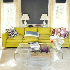 Bright Sofa Ikea Karlstad Cover Isunda Grey Vibrant Trend 25 Colorful Sofas To Rejuvenate Your Living Room View In Gallery Yellow For The Neutral Hues Design Luck Stone Center1