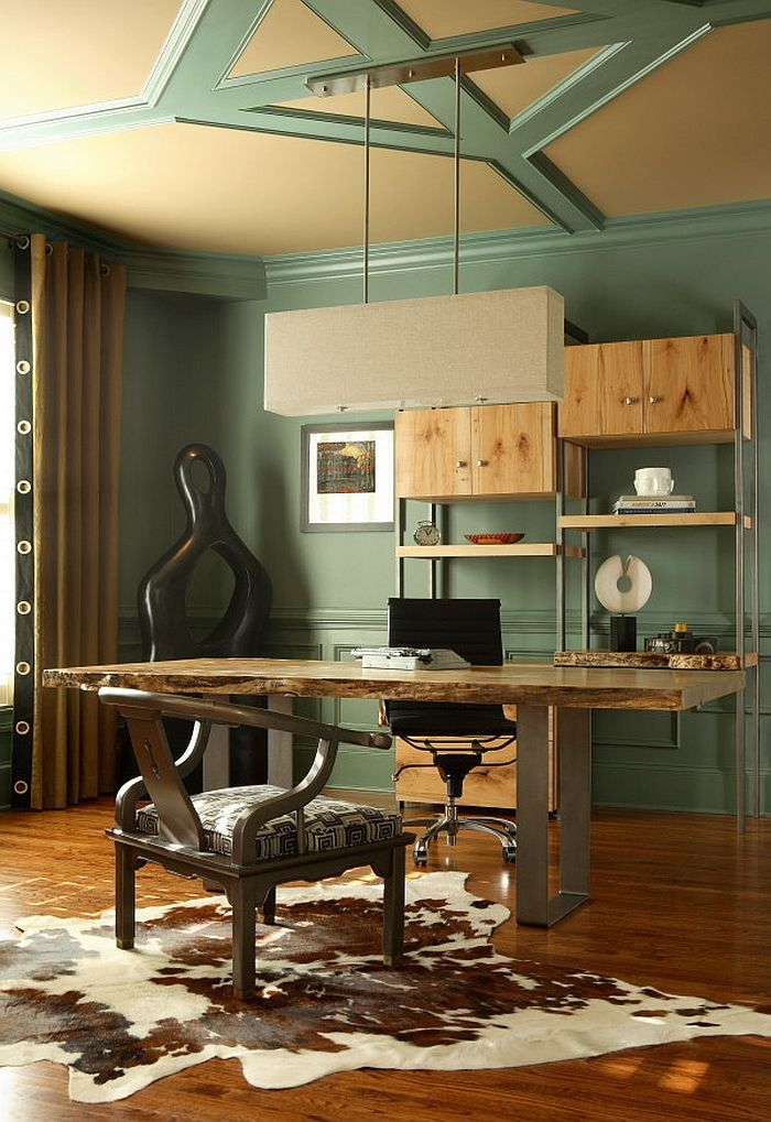 Natural Allure 25 Home Offices That Celebrate the Charm of LiveEdge Dcor