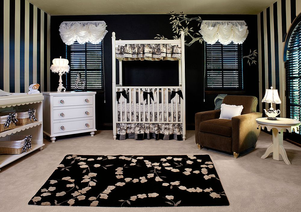 20 Cheerful and Versatile Ways to Use Black in the Nursery