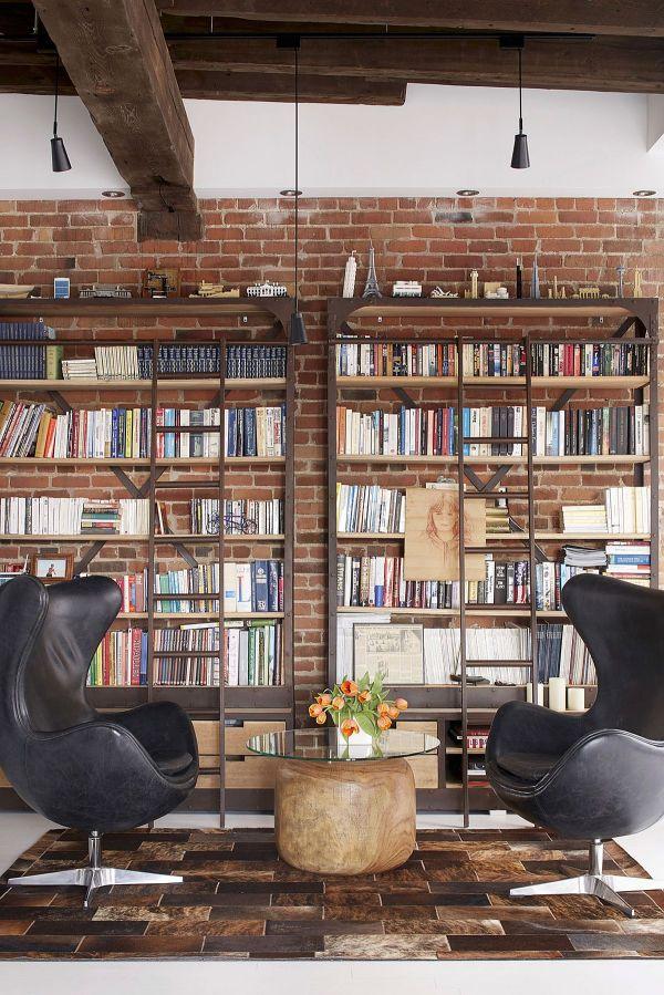 Modern Library Wall