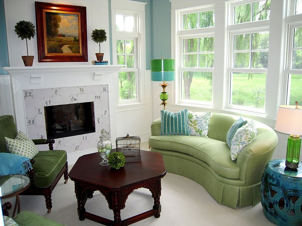 color schemes for living room with green sofa tv chairs vibrant trend 25 colorful sofas to rejuvenate your view in gallery light lime is a cool the design