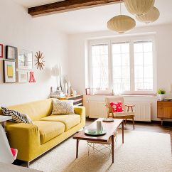 Small Living Room Sofa Color Recovering Service Vibrant Trend 25 Colorful Sofas To Rejuvenate Your View In Gallery Scandinavian Style Lets The Yellow Couch Become Star Of Show Design