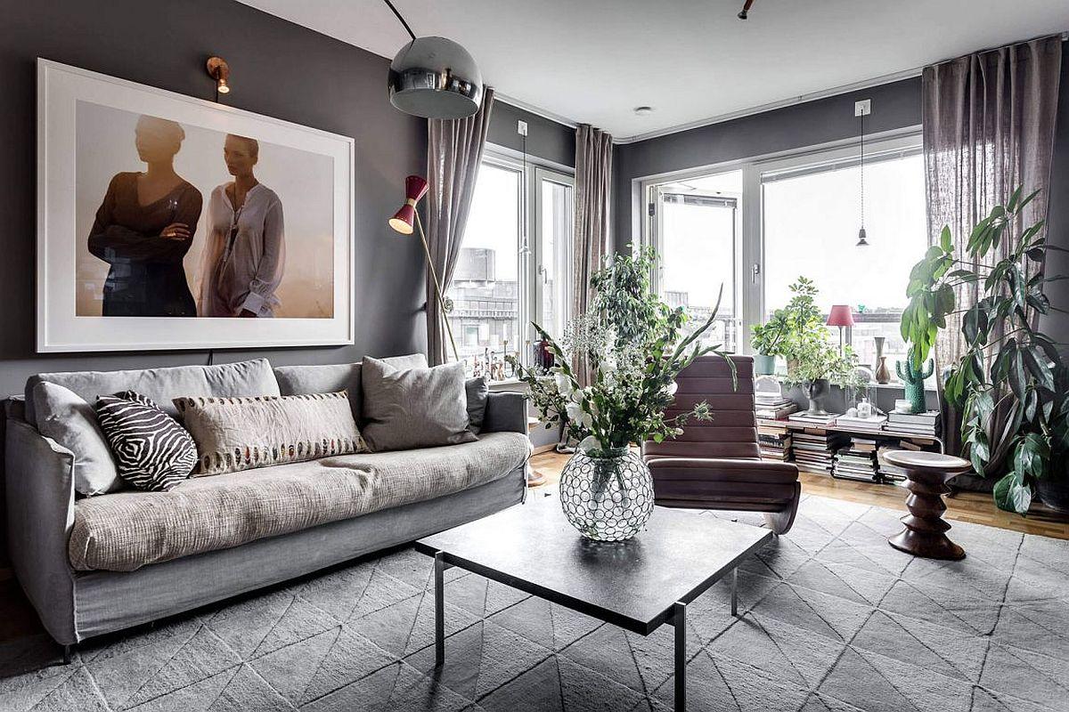 Scandinavian Style Meets Gray Panache Inside This