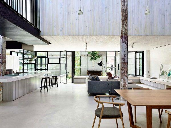 Loft Industrial Modern Contemporary House