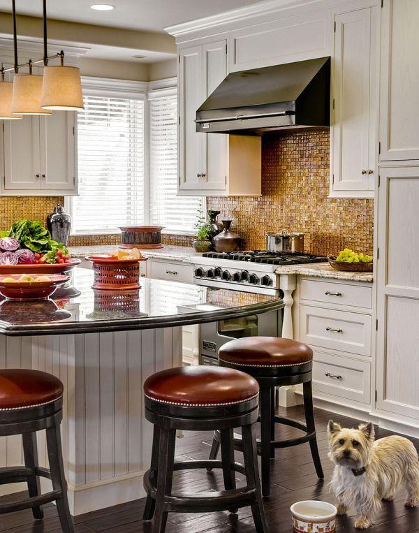 Copper Kitchen Tile Backsplash Ideas
