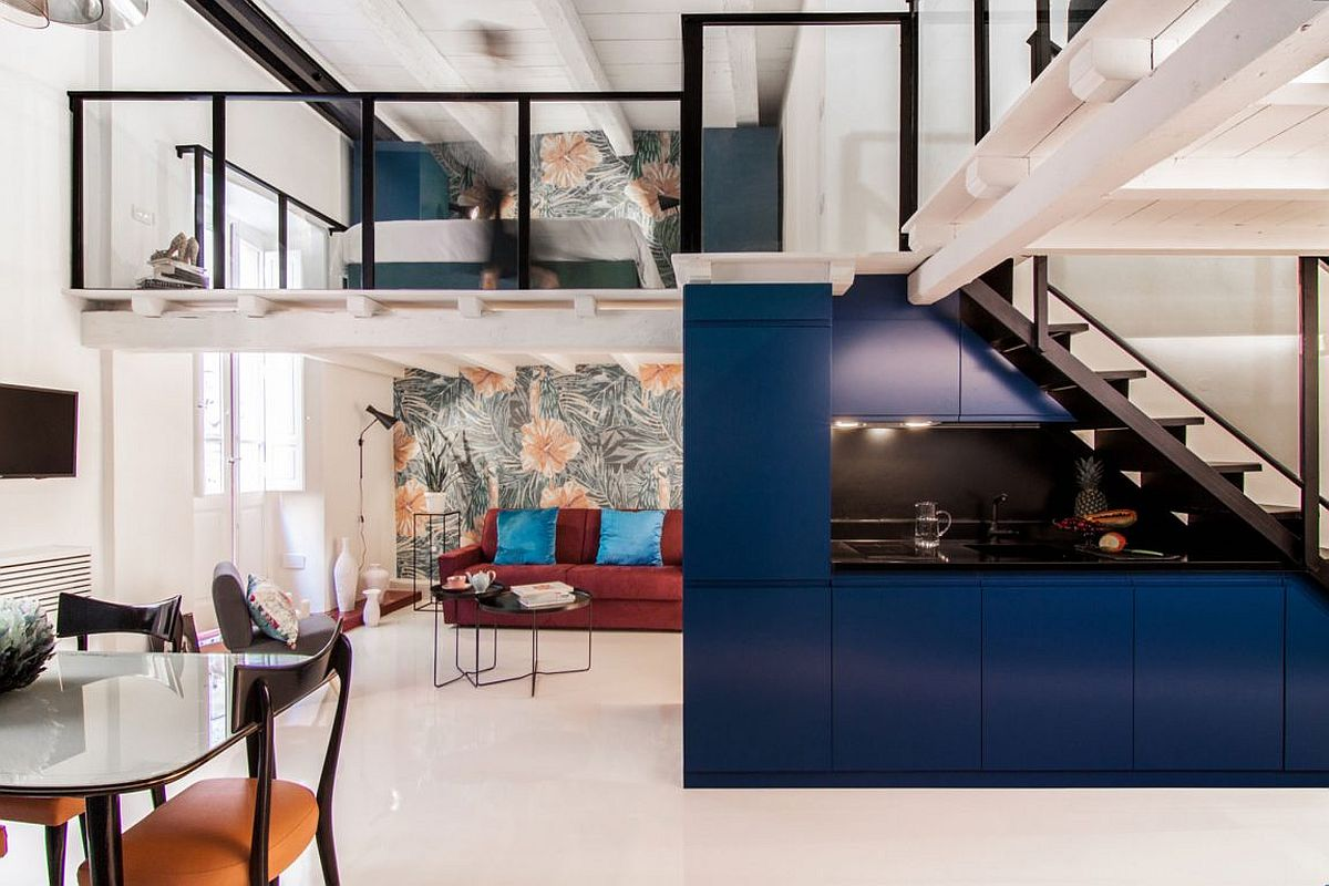 SpaceSavvy Italian Home Delights with a Nifty Mezzanine