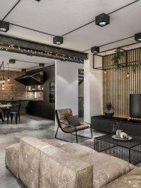 Modern Loft in Kaunas: Industrial Style Wrapped in ...