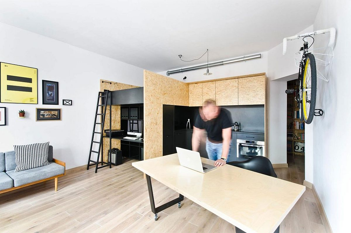 KidFriendly Multifunctional Design Studio and Apartment