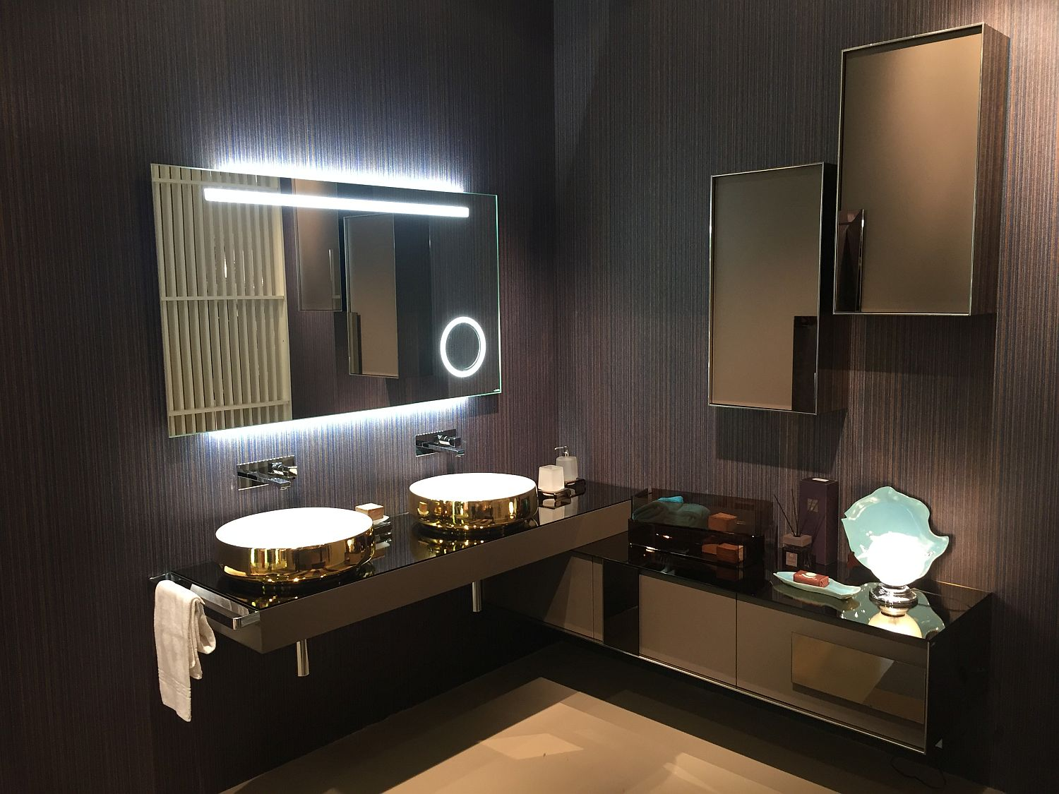 Exquisite Contemporary Bathroom Vanities With Space Savvy Style