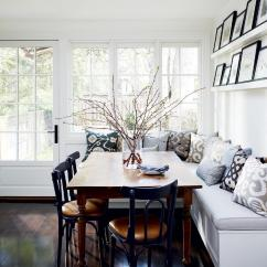 Kitchen Banquettes Accessories Dining In Comfort With View Gallery