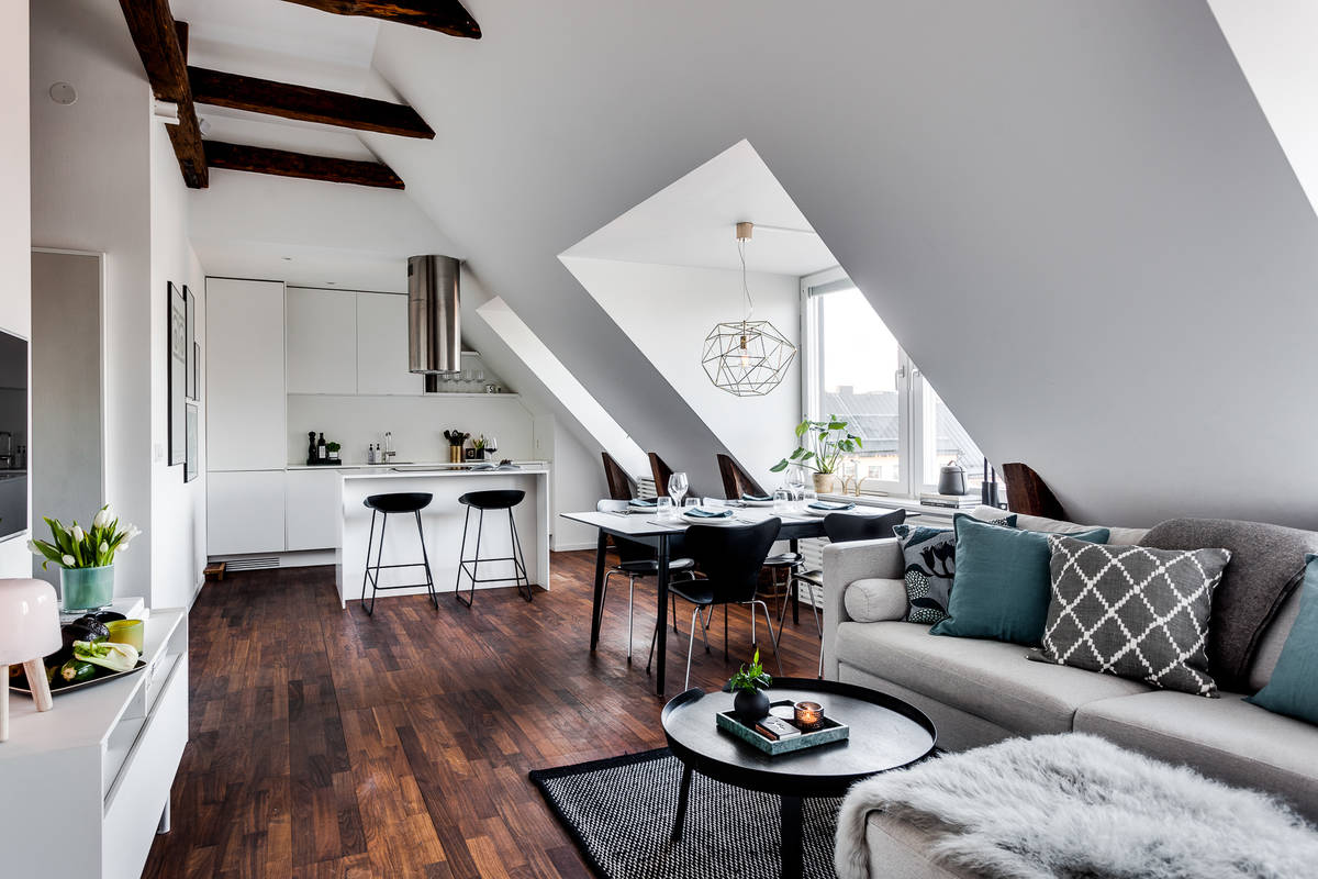 how to decorate a very small apartment living room best carpet type for comfortable and cozy: 30 attic inspirations