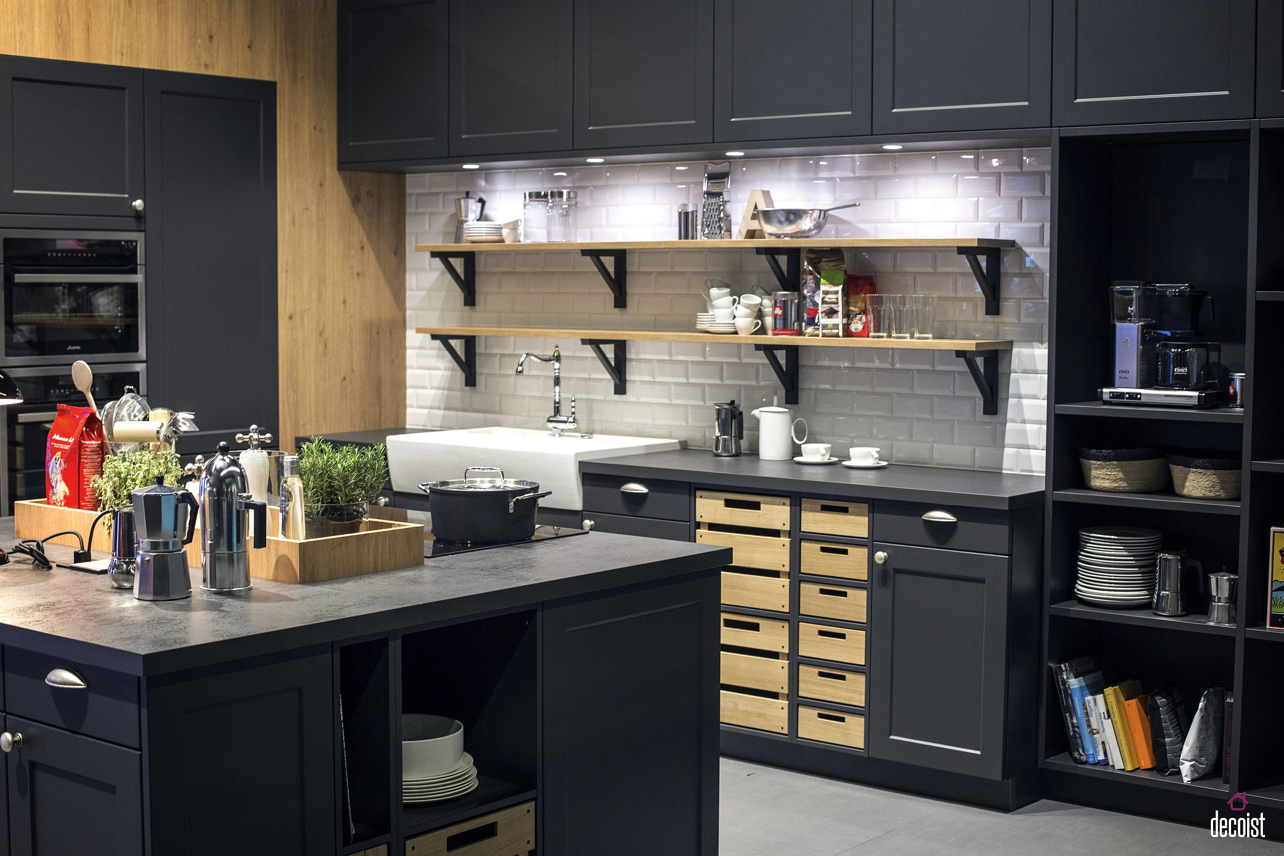 Practical and Trendy 40 Open Shelving Ideas for the