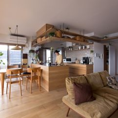 Kitchen Corner Nook Cabinet Islands This Creative Japanese Apartment Is A Space-savvy Cat Haven!