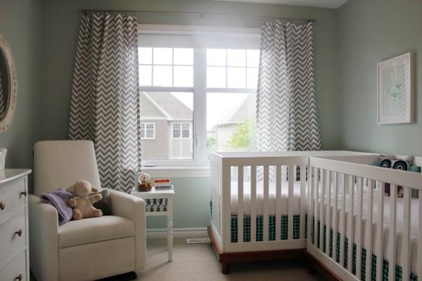 Twin Baby Nursery Ideas Small Space
