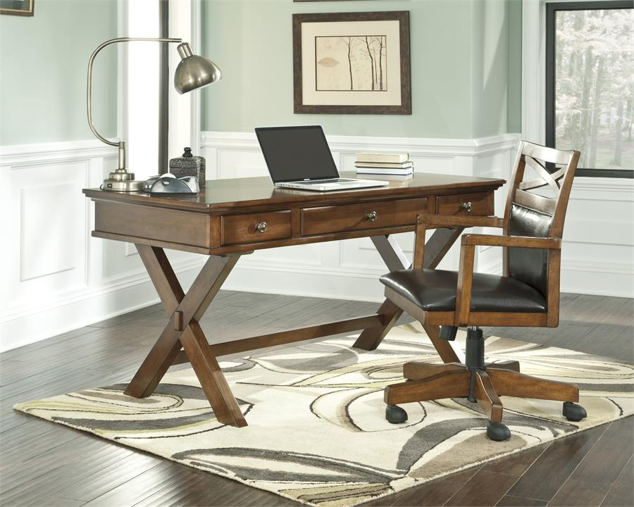 desk chair home office patio repair fabric cozy workspaces offices with a rustic touch weave in an air of modernity