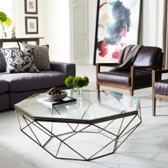 Glass Living Room Table Ideas To Decorate My Wall 30 Coffee Tables That Bring Transparency Your