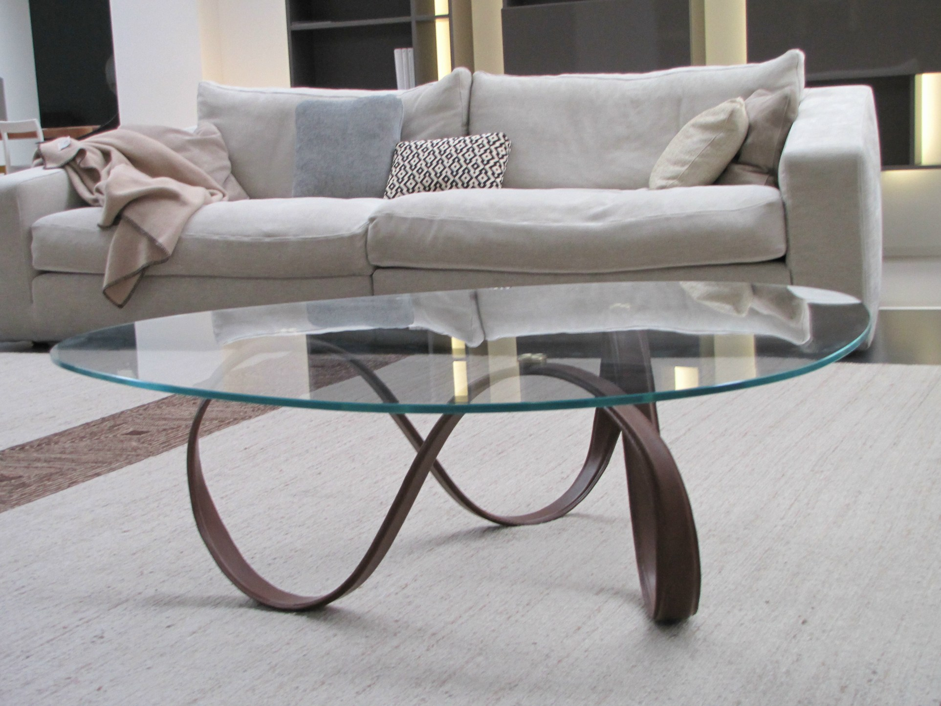 glass table sets for living room with sectionals 30 coffee tables that bring transparency to your blending in