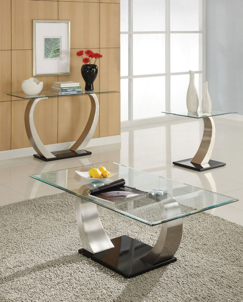 glass table sets for living room how to decorate long skinny 30 coffee tables that bring transparency your glassy and eye catching designs