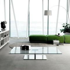 Modern Side Tables For Living Room How To Decorate A With An Off Center Fireplace 30 Glass Coffee That Bring Transparency Your