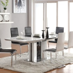 Living Room Rugs Modern Beige Color Palette 30 That Showcase Their Power Under The Dining Table View In Gallery