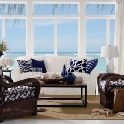 Ocean Themed Living Room Ideas Light Color Design Coastal Rooms That Will Make You Yearn For The Beach Colors Of Sea