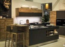 kitchen breakfast bars corner table 20 ingenious bar ideas for the social view in gallery stylish island gray with wooden that steals show