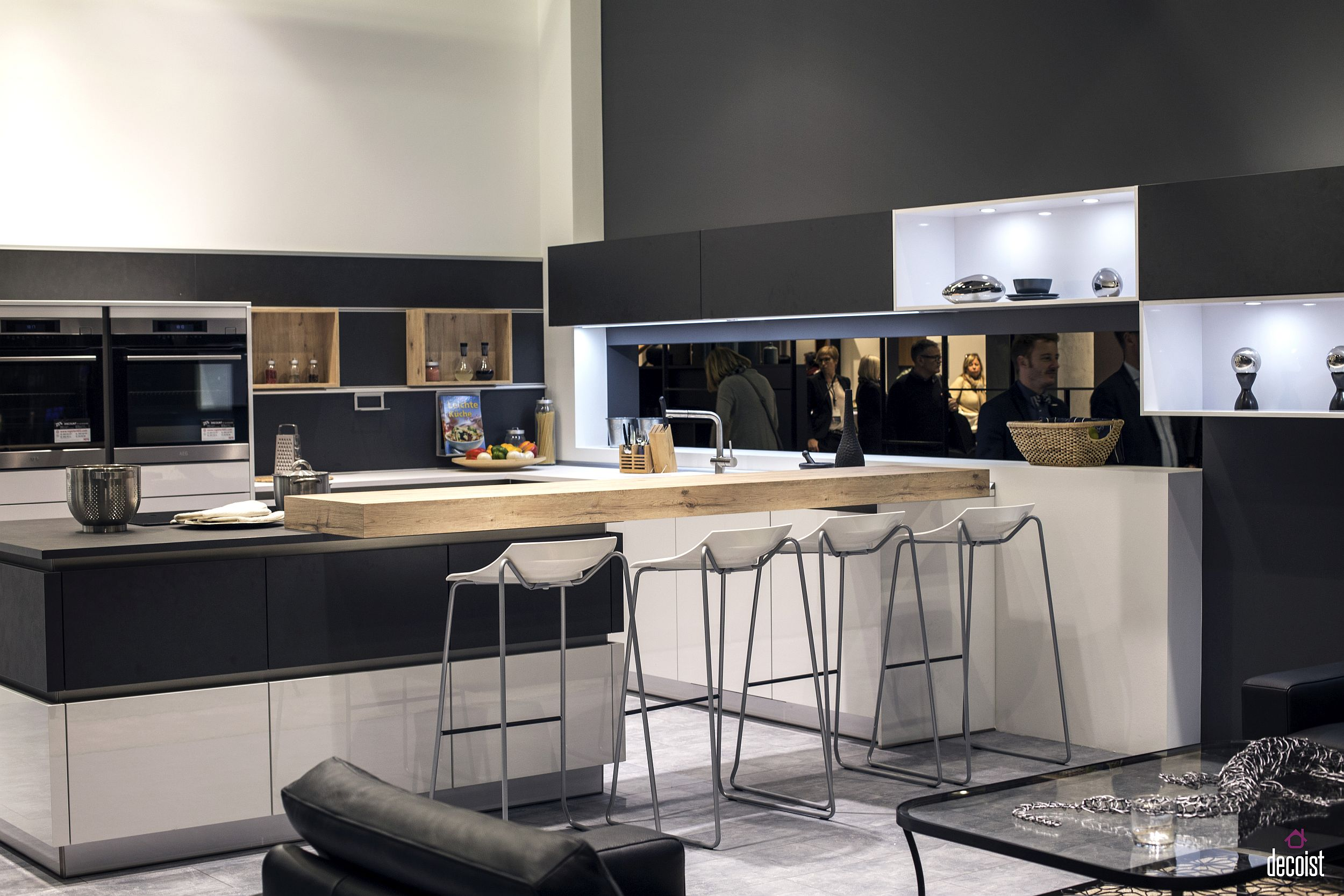 breakfast bar kitchen high end cabinets brands 20 ingenious ideas for the social