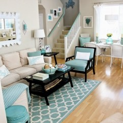 Beach Living Room Decor How To Arrange A With Fireplace And Tv Coastal Rooms That Will Make You Yearn For The