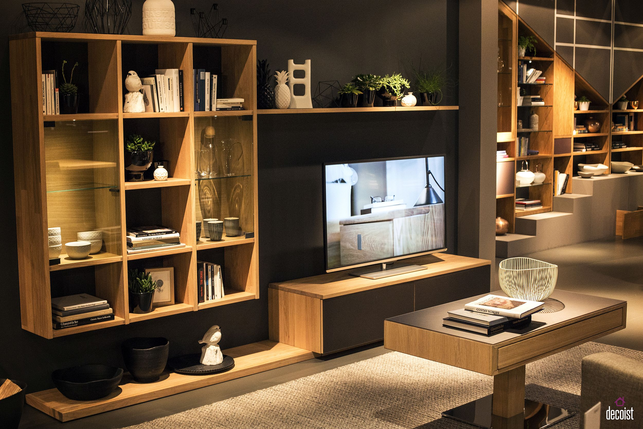 living room tv units wall for contemporary tastefully space savvy 25 that wow view in gallery entertainment unit white and wood from inter design