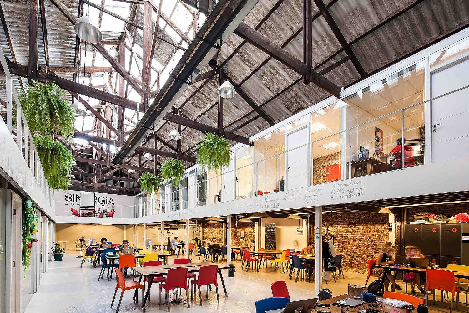 Sinergia Cowork Palermo Adaptive Reuse At Its Industrial Best