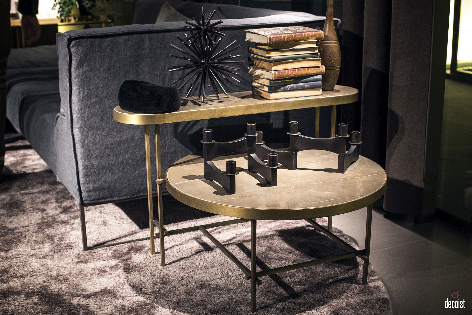 contemporary side and end tables