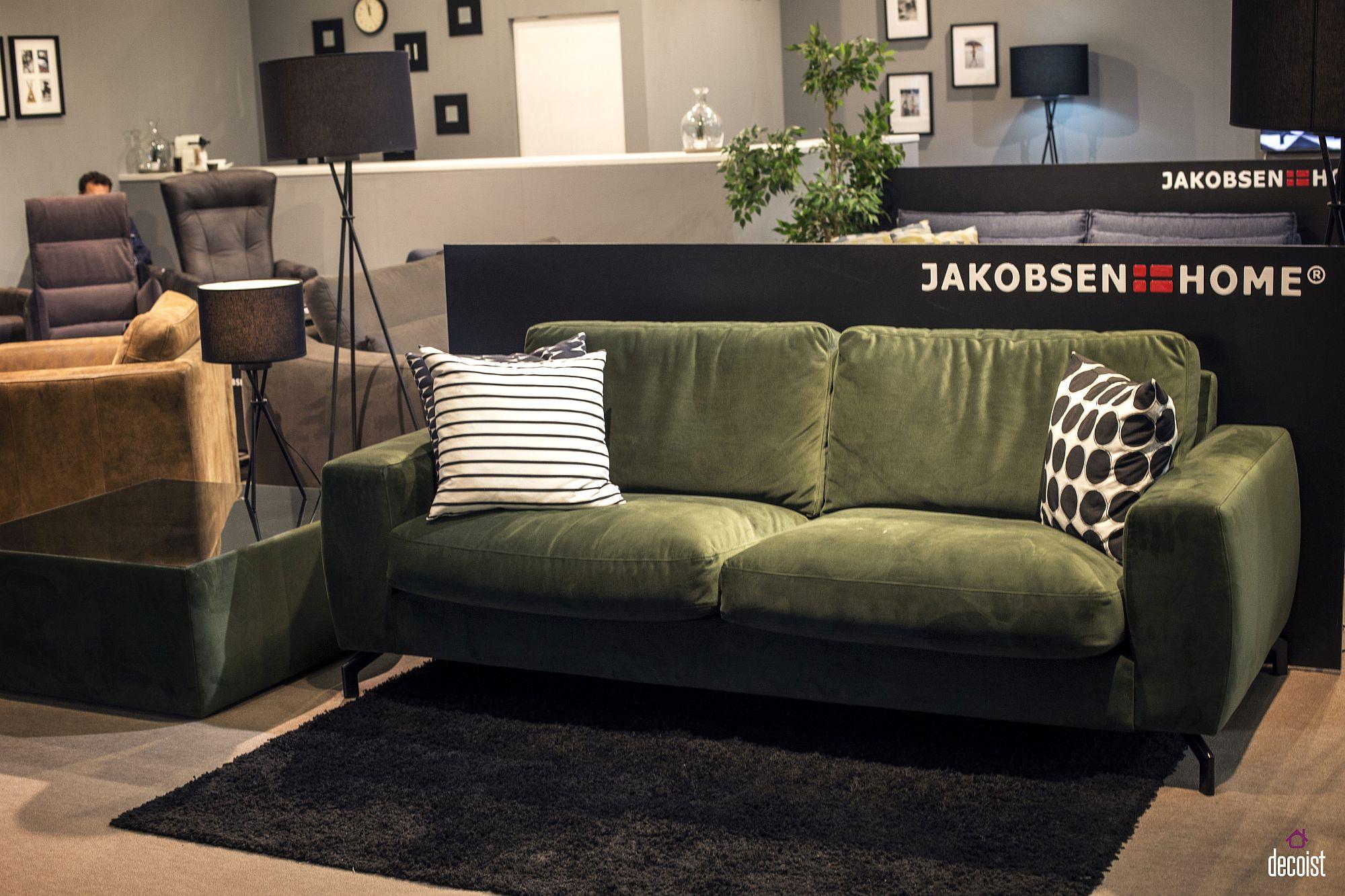 olive green sofa living room ideas small grey corner bed audrey upholstered set