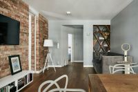 Renovated Krakow Apartment Showcases Beauty of Exposed ...