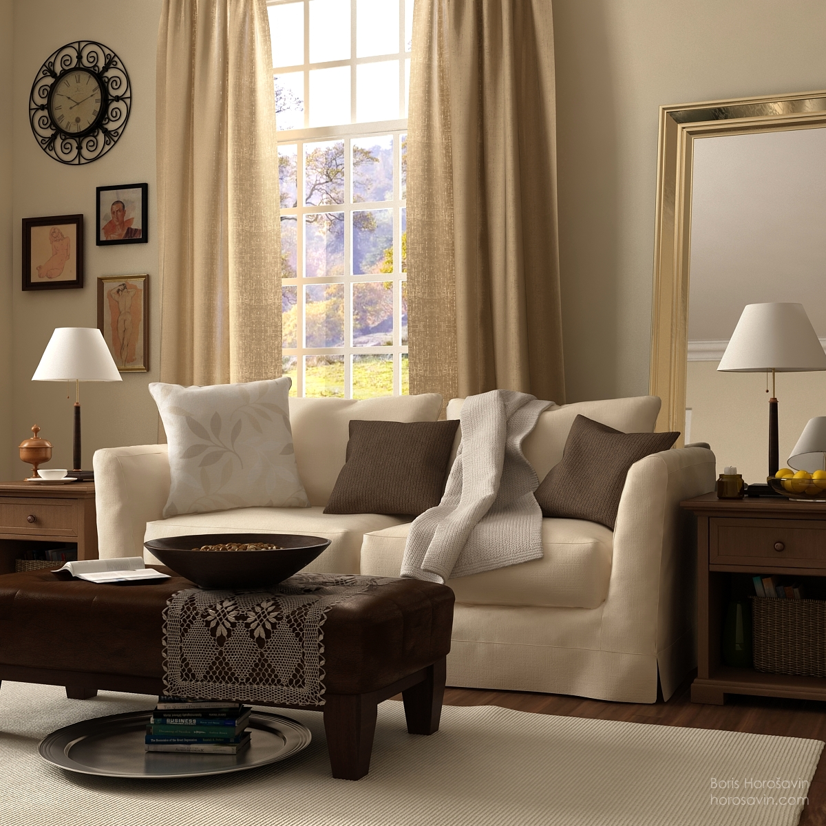 Beyond White Bliss Of Soft And Elegant Beige Living Rooms Part 73
