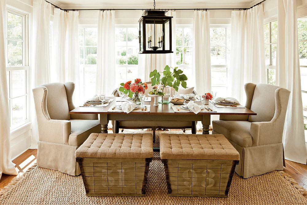 modern wingback chairs for sale banquet tables and 15 ways to bring rustic warmth the dining room