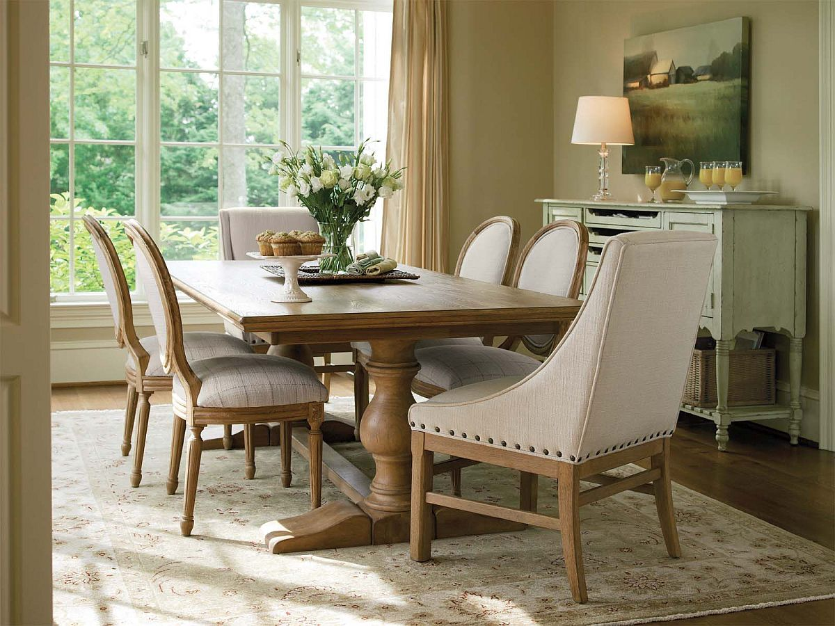 farmhouse dining room chairs oak spindle back 15 ways to bring rustic warmth the modern view in gallery small and stylish