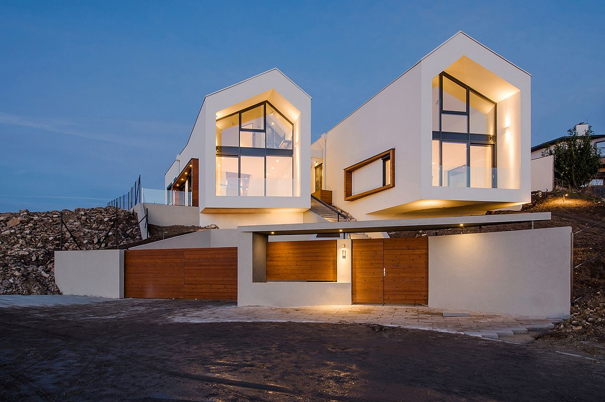 A Bird S Eye View Of Budapest Hilltop House With Twin