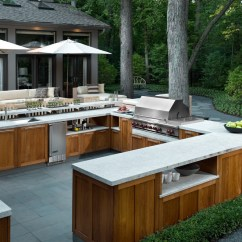 Modern Outdoor Kitchen Delta Addison Faucet 30 Fresh And Kitchens Sophisticated Neutral Style