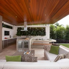 Covered Outdoor Kitchen Industrial Style Pendant Lights 30 Fresh And Modern Kitchens View In Gallery When You Have A