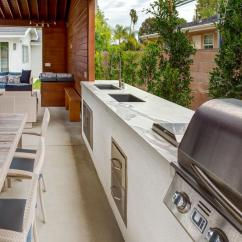 Modern Outdoor Kitchen Cream Colored Cabinets 30 Fresh And Kitchens