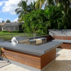 Modern Outdoor Kitchen Garbage Cans 30 Fresh And Kitchens View In Gallery
