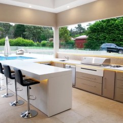 Modern Outdoor Kitchen Refrigerator Small 30 Fresh And Kitchens View In Gallery A White
