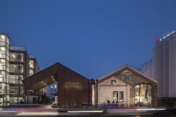Roofless Industrial Building Turned Fabulous Market