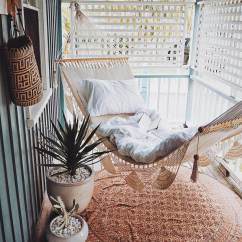 White Bohemian Hanging Chair Living Room Chairs With Ottoman Boho Chic Amazing Hammocks That Add A Flair To