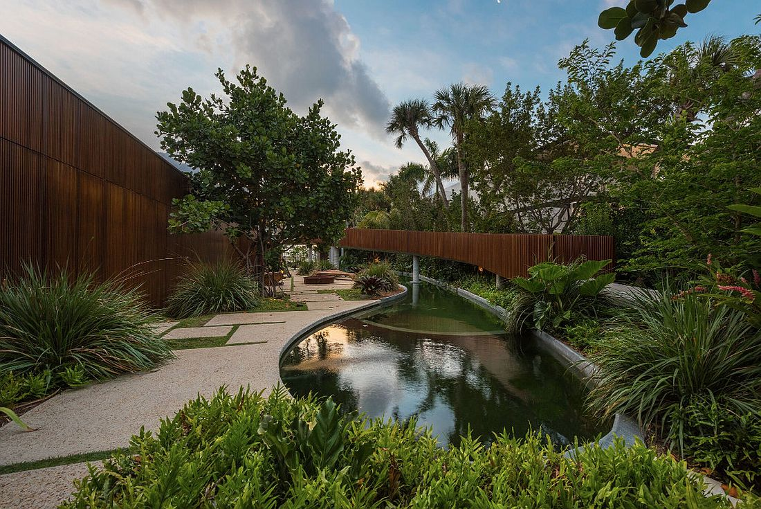 Luxury Miami Beach House With Man Made Lagoon Could Be