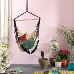 Hanging Chair In Room Golden Lift Chairs Boho Chic Amazing Hammocks That Add A Bohemian Flair To