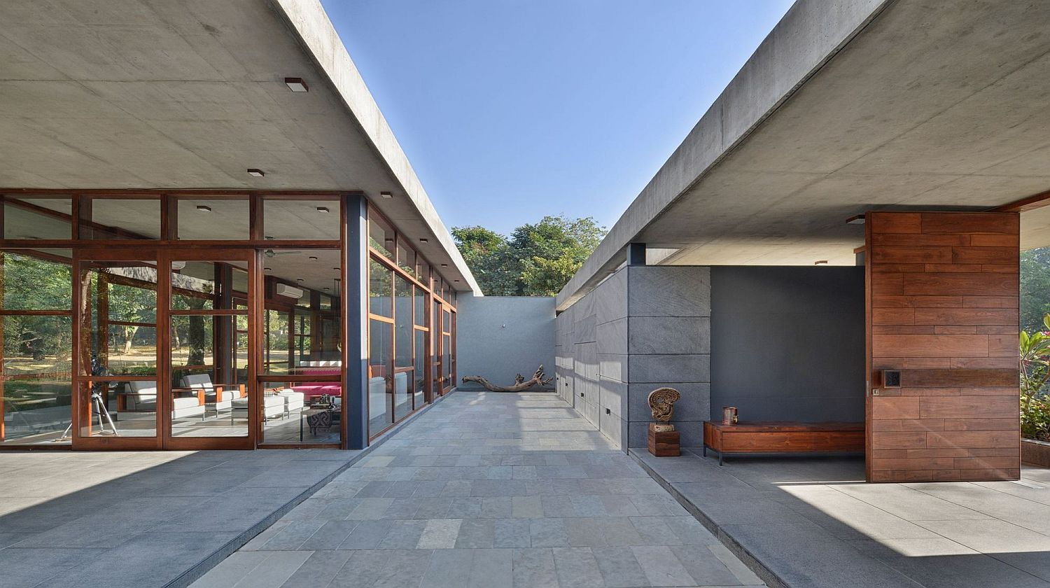 Eco Sensitive Holiday Home Relies On Locally Sourced Stone