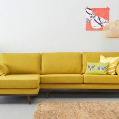 Yellow Sofa Bed Ikea What Colour Wallpaper Goes With Brown A Sunshine Piece For Your Living Room