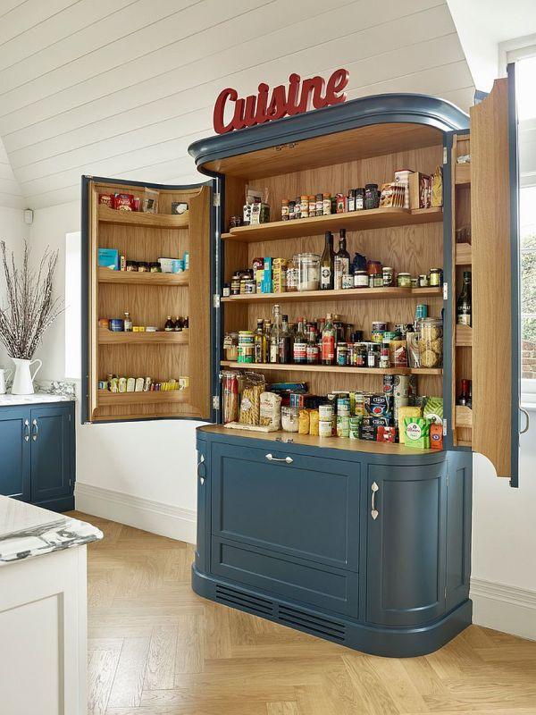 Small Pantry Ideas Organized Space-savvy Kitchen